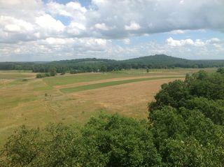 Gettysburg 7-4-13 Looking Towards Little Round Top