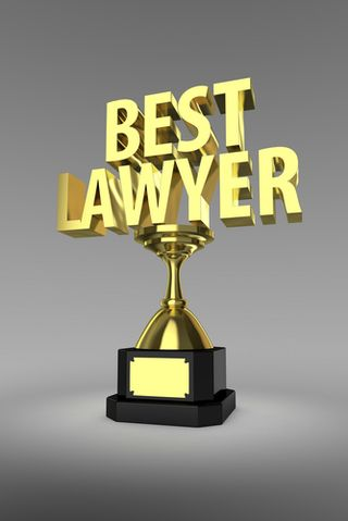 Best Lawyer Trophy