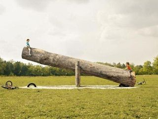 Big Log See-Saw